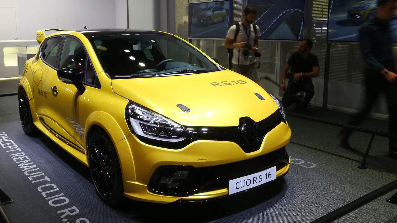 Renault Clio R.S. 16 concept nhỏ gọn ra mắt Paris Motor Show 2016